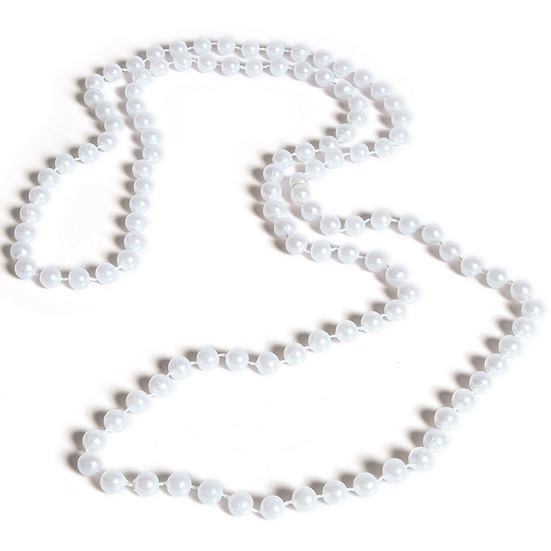 White Pearl Necklace for the 2015 Costume season.