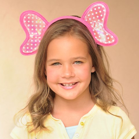 Pink Elephant Headband Child