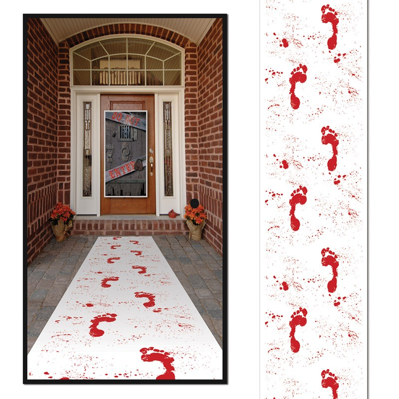 Halloween Bloody Footprints Runner for the 2015 Costume season.