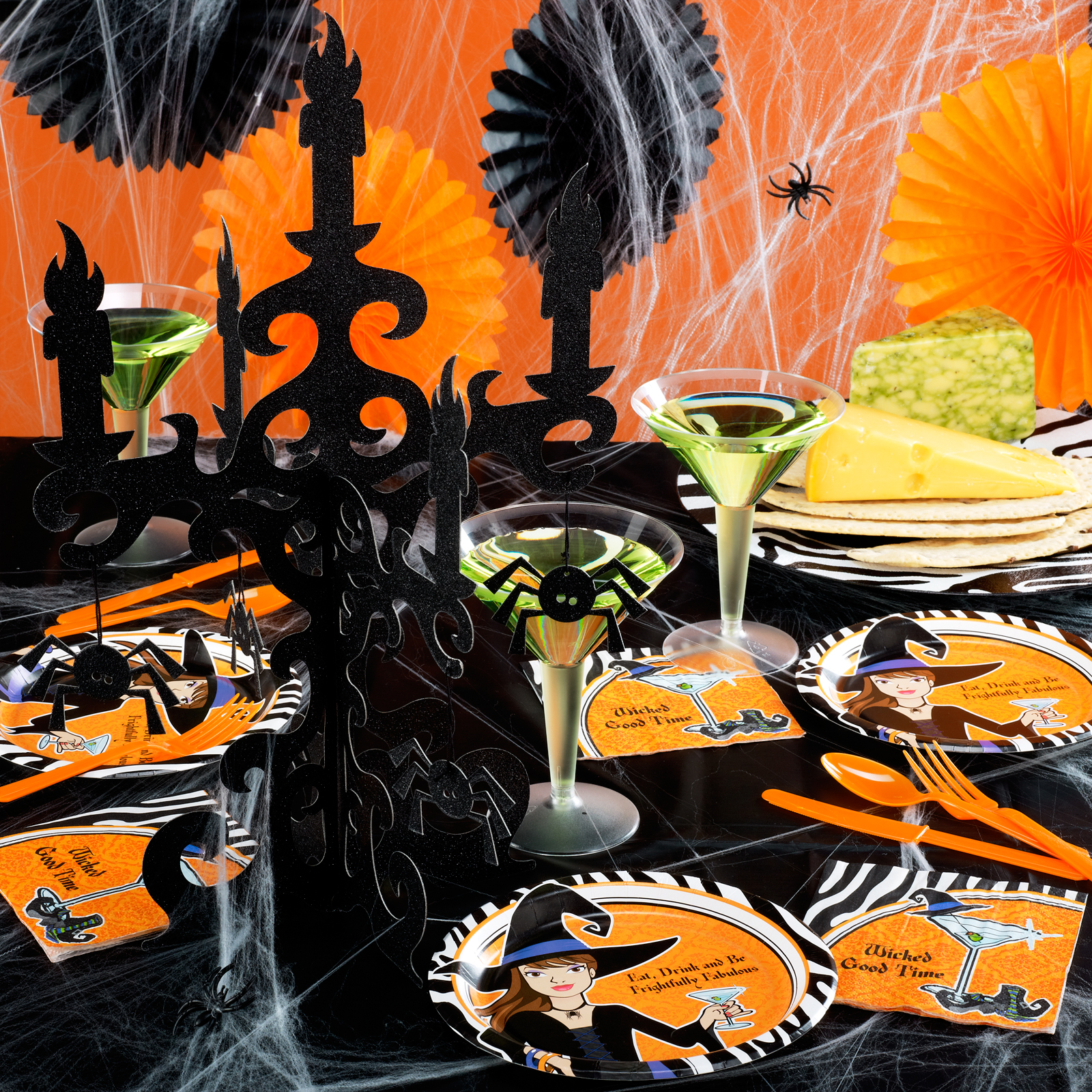 Frightfully Fabulous Halloween Party Kit