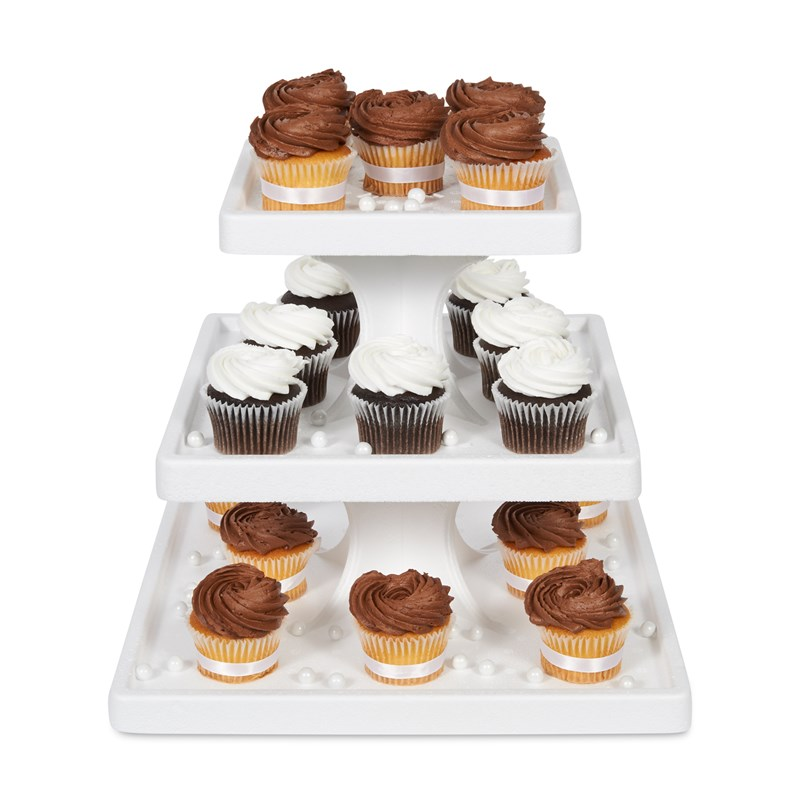 3 Tier Square Cupcake Stand for the 2015 Costume season.