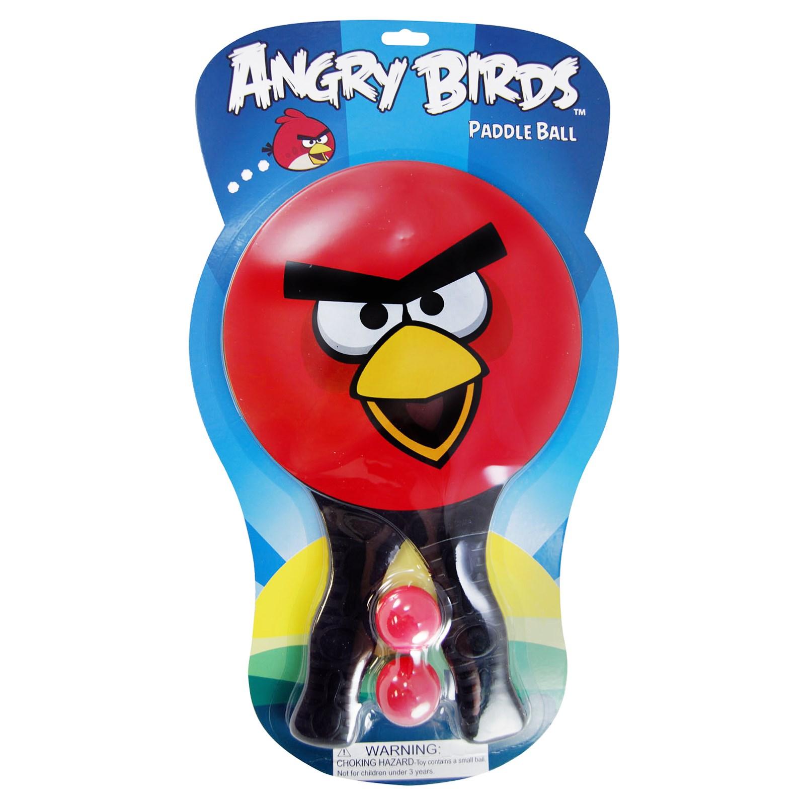 Rovio Angry Birds Paddle Ball Set