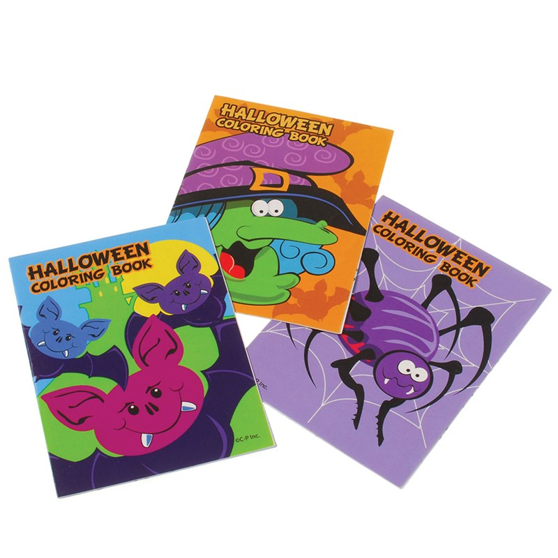 Halloween Coloring Books for the 2015 Costume season.
