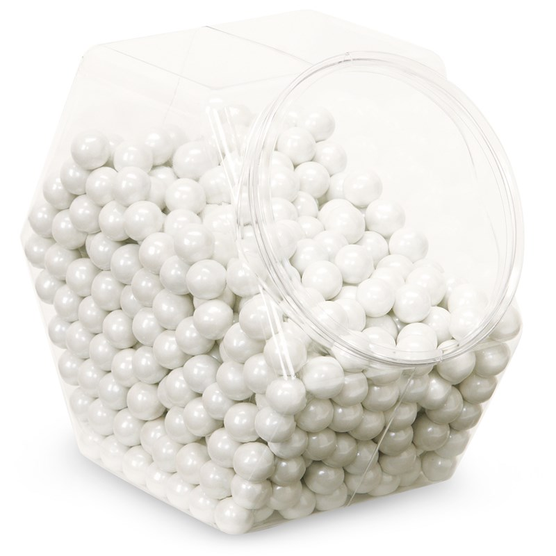 Shimmer White Sixlets Candy for the 2015 Costume season.