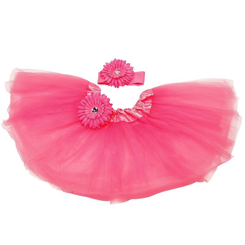 Hot Pink Tutu with Headband for the 2015 Costume season.