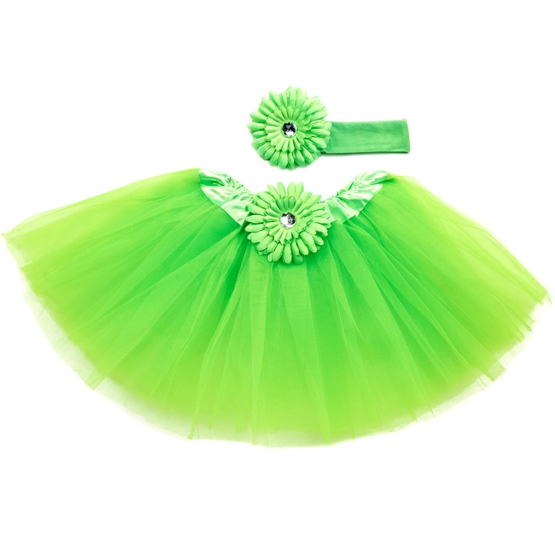 Lime Green Tutu with Headband for the 2015 Costume season.