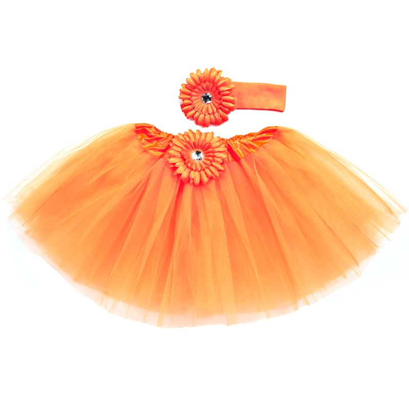 Orange Tutu with Headband for the 2015 Costume season.