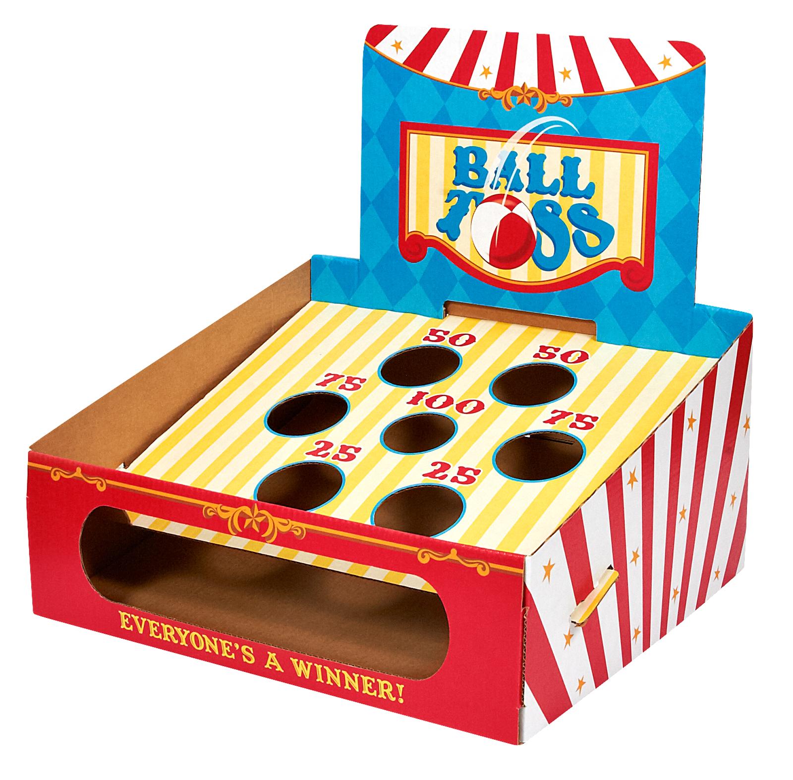 Carnival Ball Toss Game | eBay