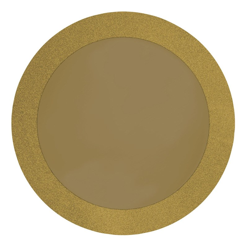 Gold Glitz Round Placemats (8 count) for the 2015 Costume season.