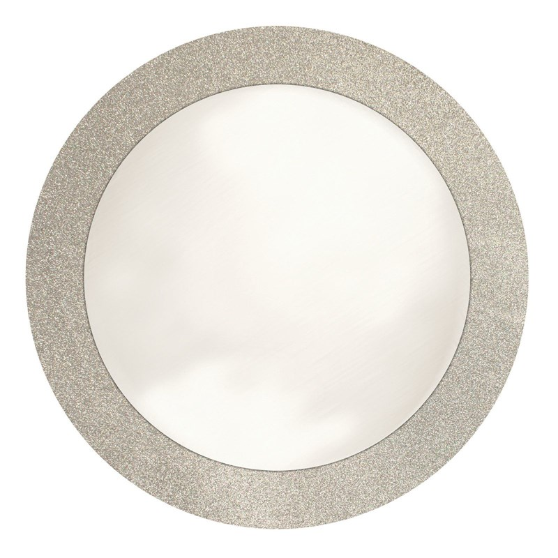 Silver Glitz Prismatic Round Placemats (8 count) for the 2015 Costume season.