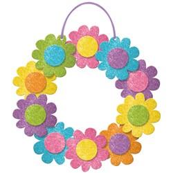 Spring Glitter Wreath