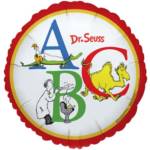 Dr. Seuss ABC - Foil Balloon