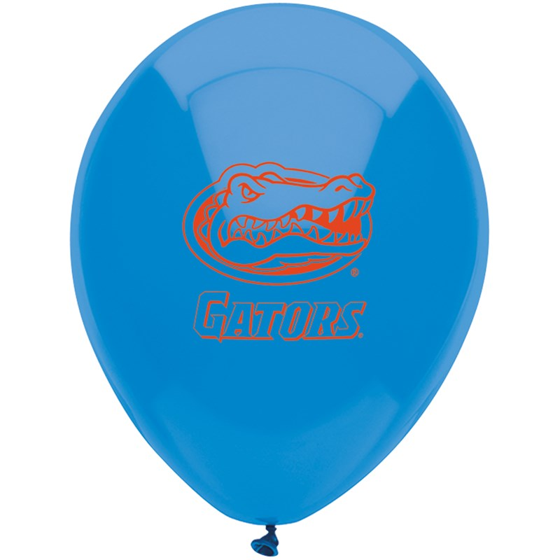 Florida Gators   Latex Balloons (10 balloons) for the 2015 Costume season.