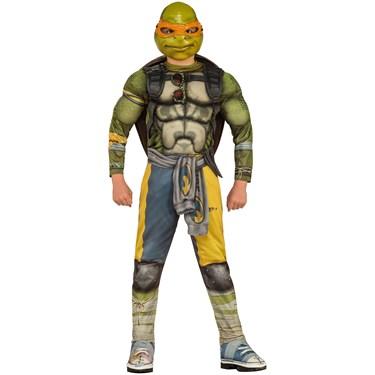 TMNT Boys Deluxe Moive Michelangelo