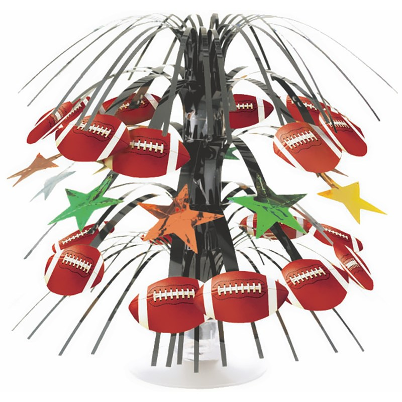 Championship Football Mini Cascade Centerpiece for the 2015 Costume season.