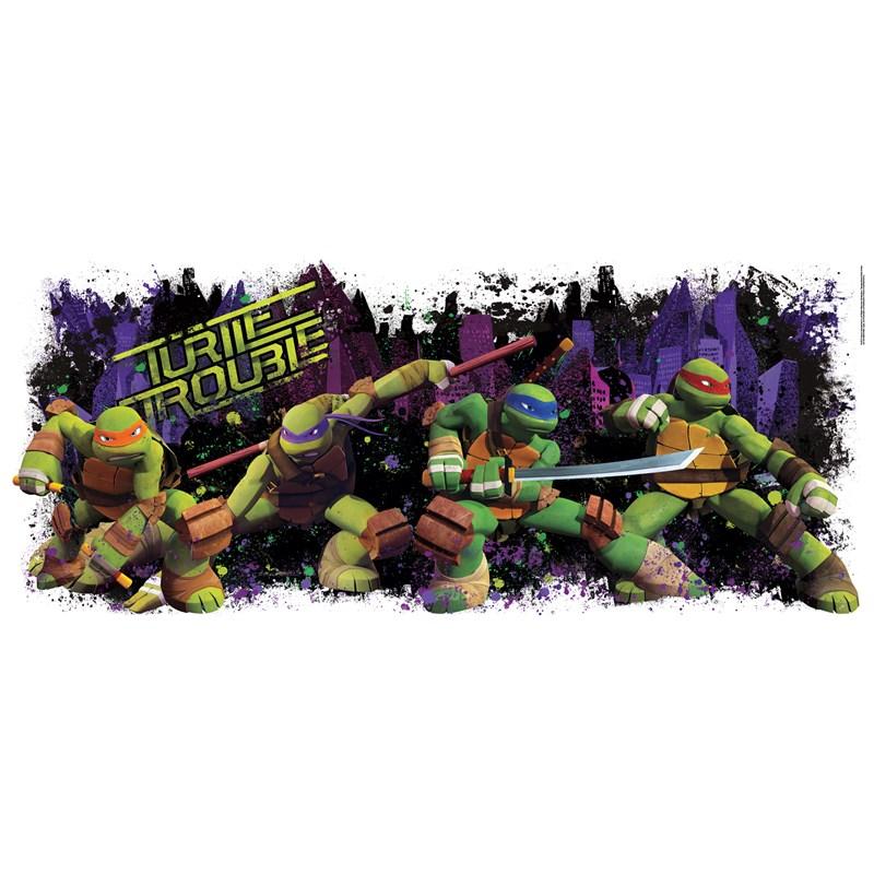 Teenage Mutant Ninja Turtles Giant Wall Decal for the 2015 Costume season.