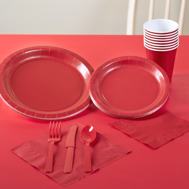 Classic Red Solid Color Party Kit for the 2015 Costume season.