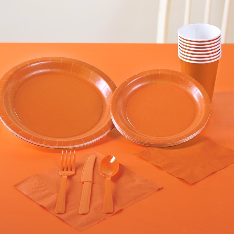 Sunkissed Orange Solid Color Party Kit for the 2015 Costume season.