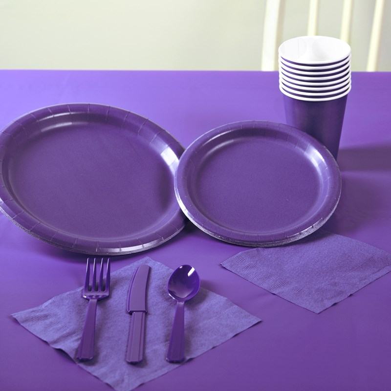 Perfect Purple Solid Color Party Kit for the 2015 Costume season.