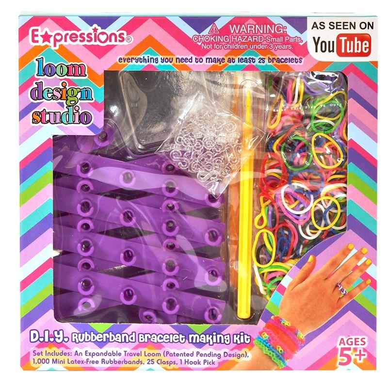 Loom Design Studio Rubber Bracelet Kit for the 2015 Costume season.