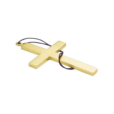 9 Inch Gold Cross