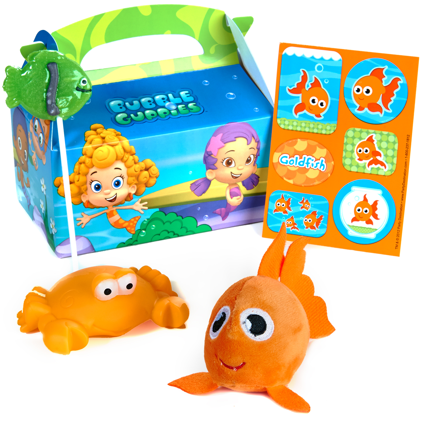 Bubble guppies party supplies deals on 1001 blocks - Bubulles guppies ...