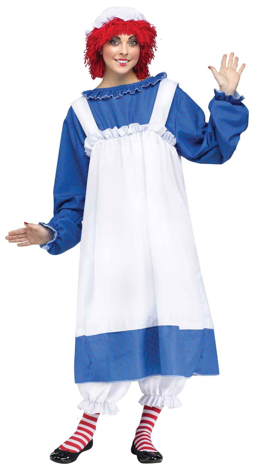 Raggedy Ann Adult Costume