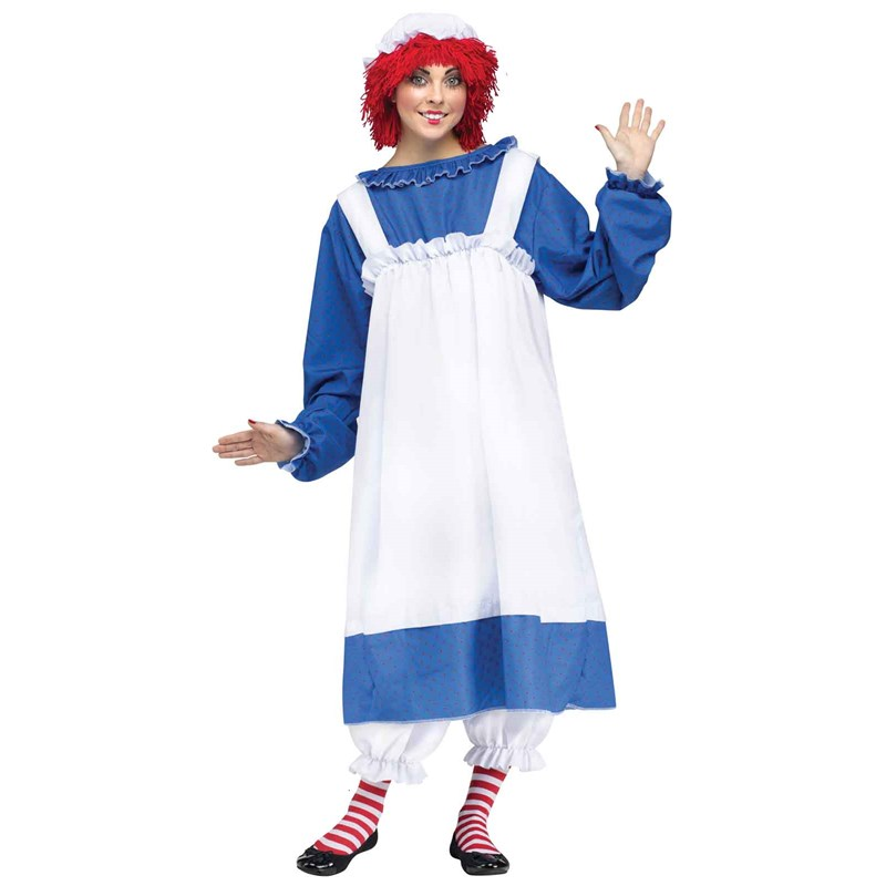 Raggedy Ann Adult Costume for the 2015 Costume season.