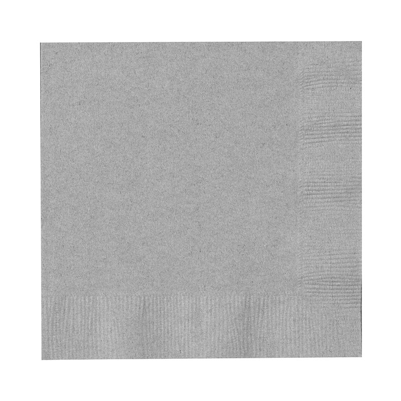 Shimmering Silver (Silver) Beverage Napkins (50 count) for the 2015 Costume season.