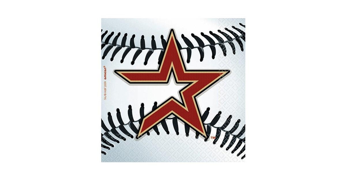 Houston astros baseball beverage napkins 36 count for Assassin tattoo houston
