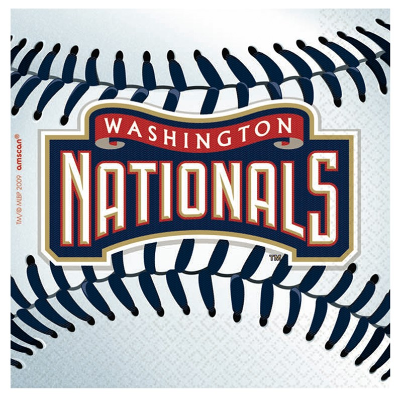 Washington Nationals Baseball   Beverage Napkins (36 count) for the 2015 Costume season.