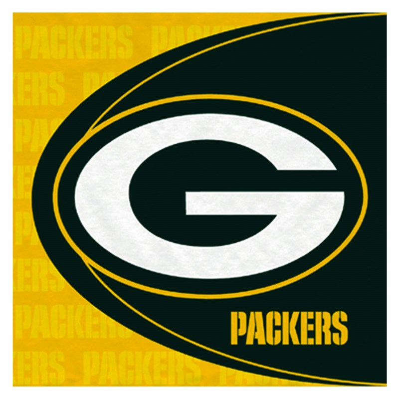 Green Bay Packers Lunch Napkins (16 Count)