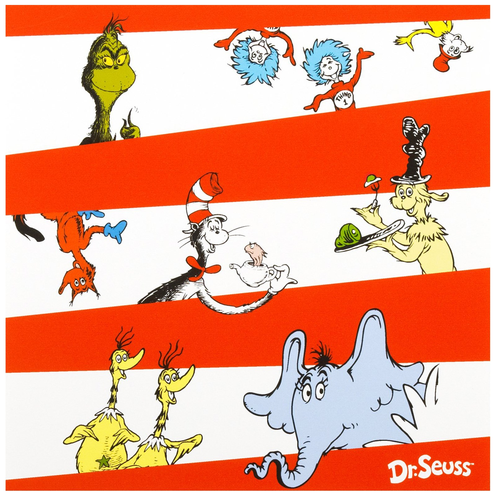 Dr. Seuss Lunch Napkins 16 count
