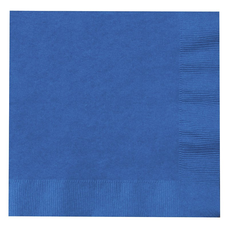 True Blue (Blue) Lunch Napkins (50 count) for the 2015 Costume season.