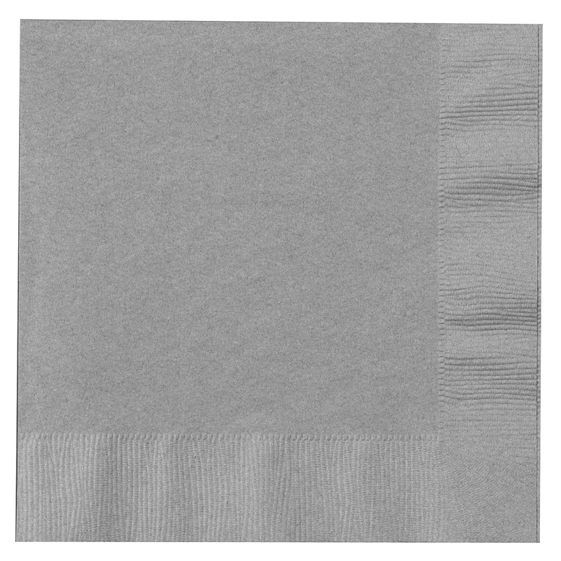 Shimmering Silver (Silver) Lunch Napkins (50 count) for the 2015 Costume season.