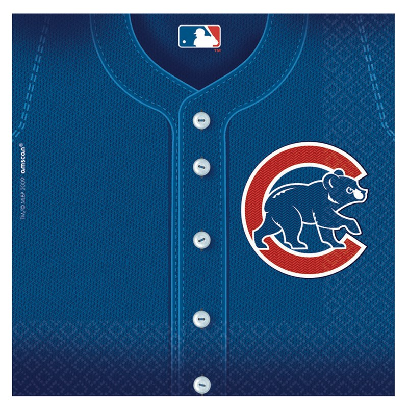 Chicago Cubs Baseball   Lunch Napkins (36 count) for the 2015 Costume season.