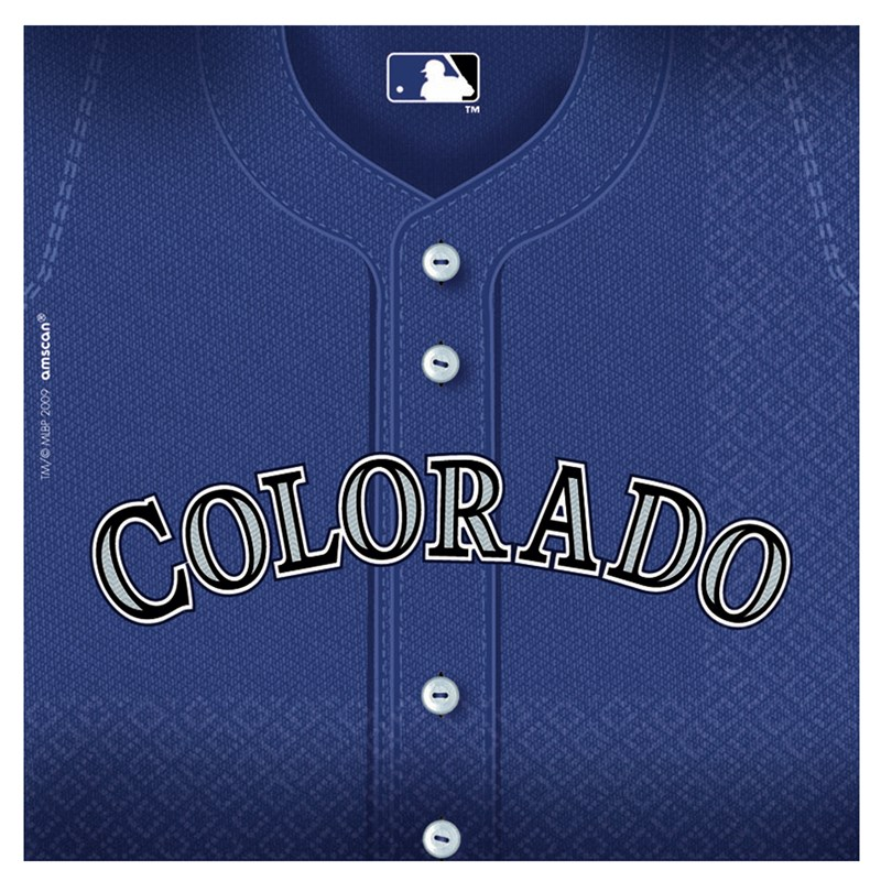Colorado Rockies Baseball   Lunch Napkins (36 count) for the 2015 Costume season.