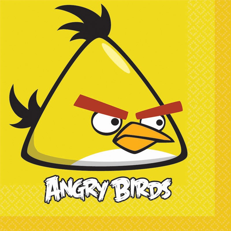 Angry Birds Lunch Napkins (16 count) for the 2015 Costume season.