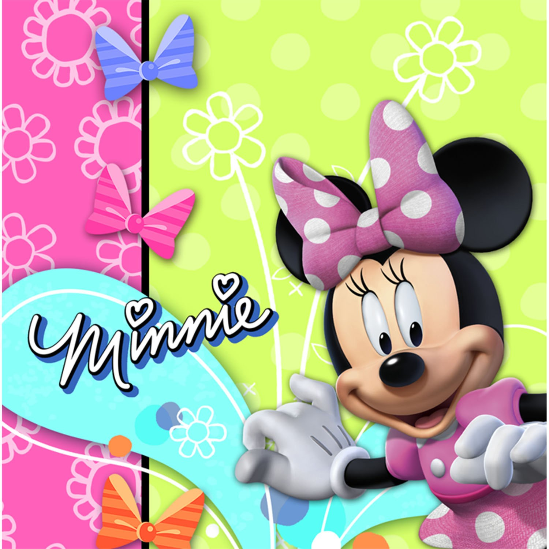 Disney Minnie Mouse Bow-tique Lunch Napkins 16 count