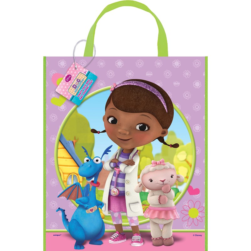 Disney Junior Doc McStuffins Tote Bag for the 2015 Costume season.