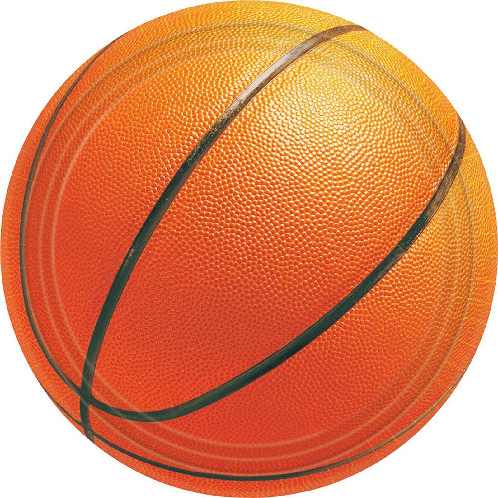 Basketball Fan – Banquet Dinner Plates 8 count