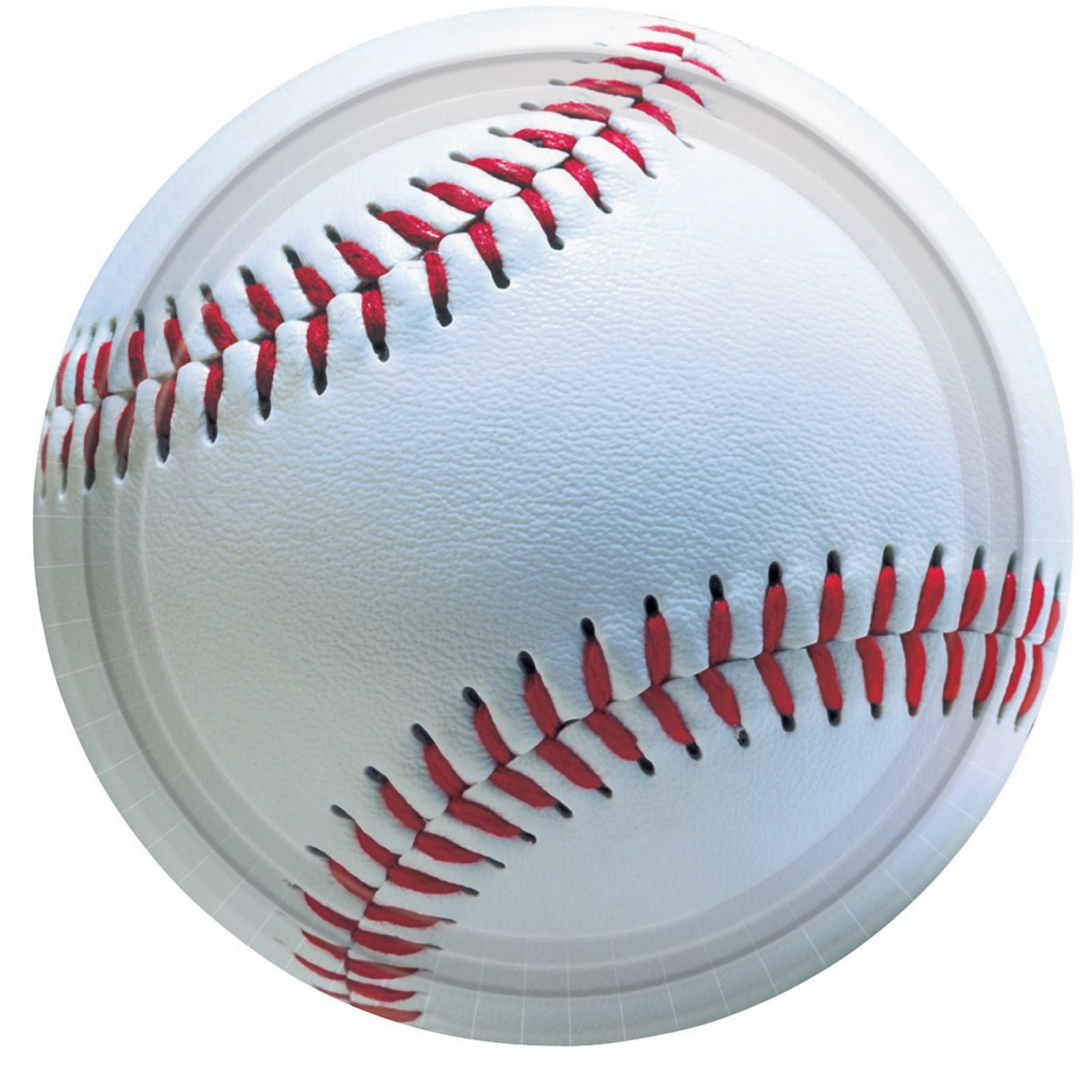 Baseball Fan – Dessert Plates 8 count