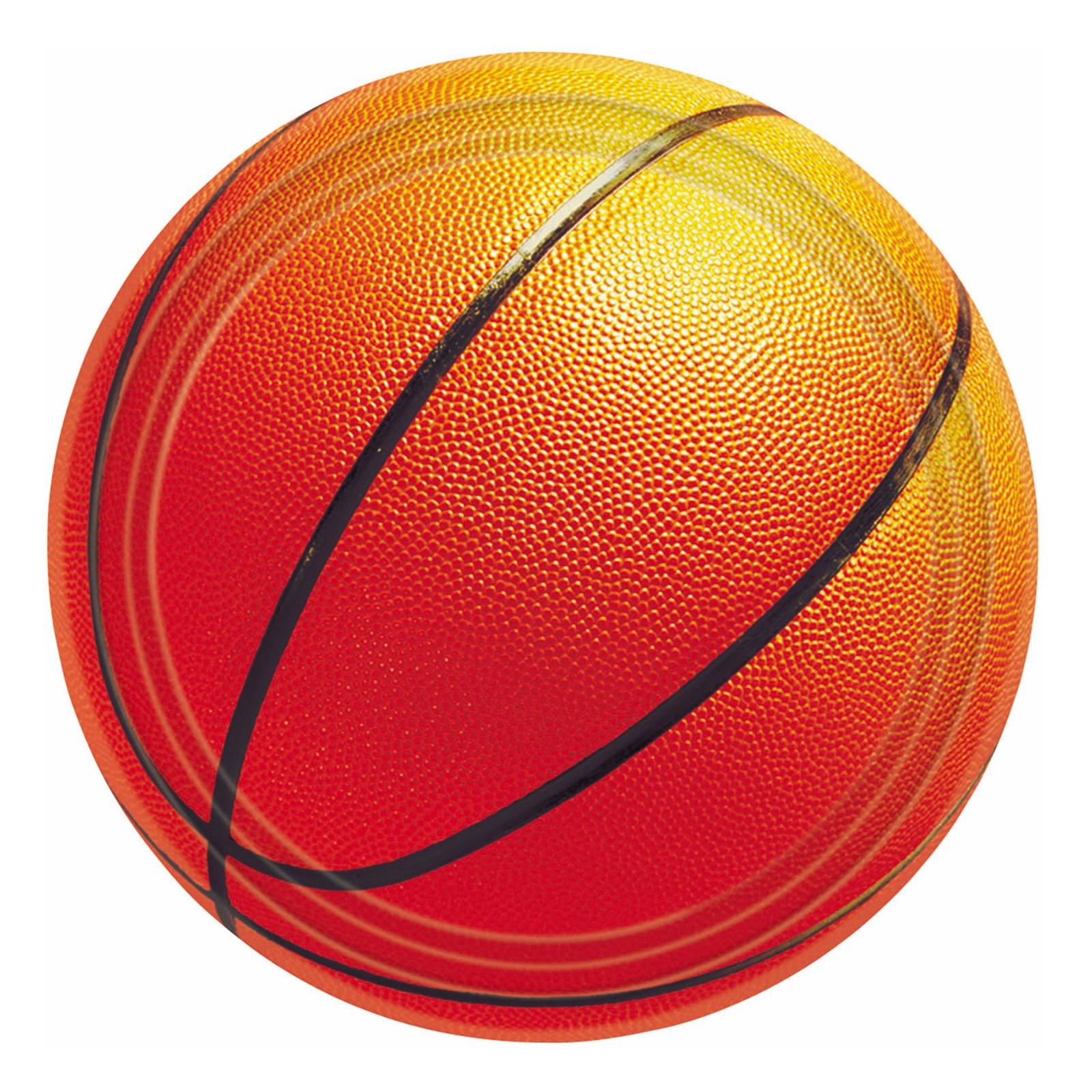 Basketball Fan – Dessert Plates 8 count
