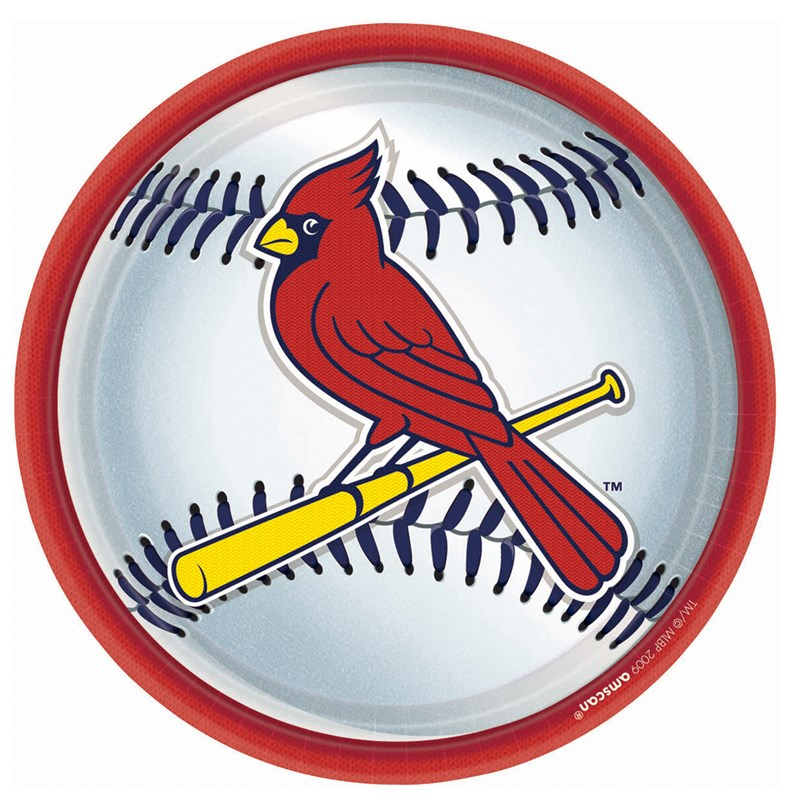 St. Louis Cardinals Baseball   Round Dinner Plates (18 count) for the 2015 Costume season.