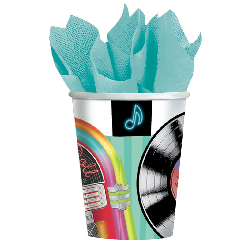 Sock Hop 9 oz. Paper Cups (8 count) for the 2015 Costume season.