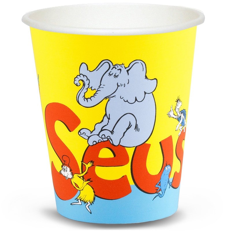 Dr. Seuss 9 oz. Paper Cups (8 count) for the 2015 Costume season.