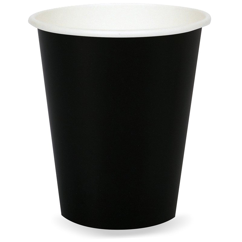 Black Velvet (Black) 9 oz. Paper Cups (24 count) for the 2015 Costume season.