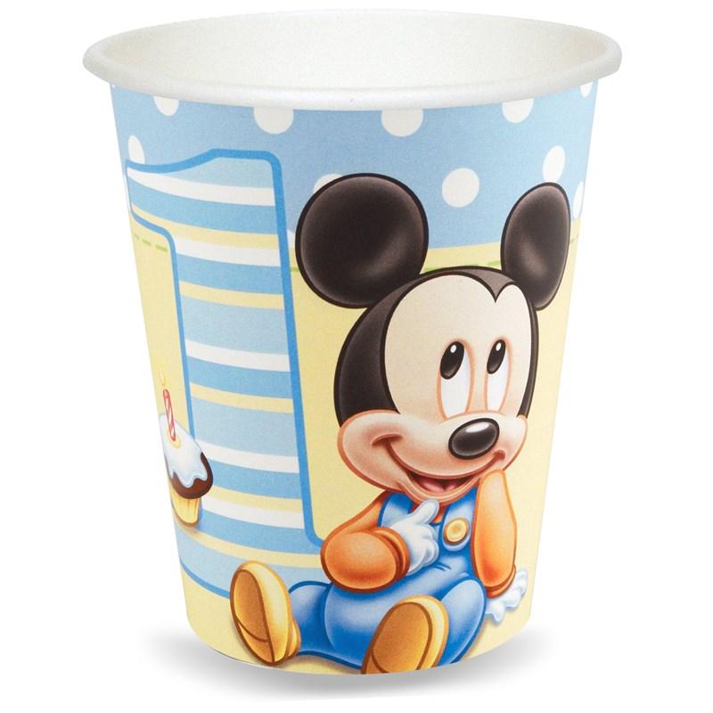 Disney Mickeys 1st Birthday 9 oz. Cups (8 count) for the 2015 Costume season.