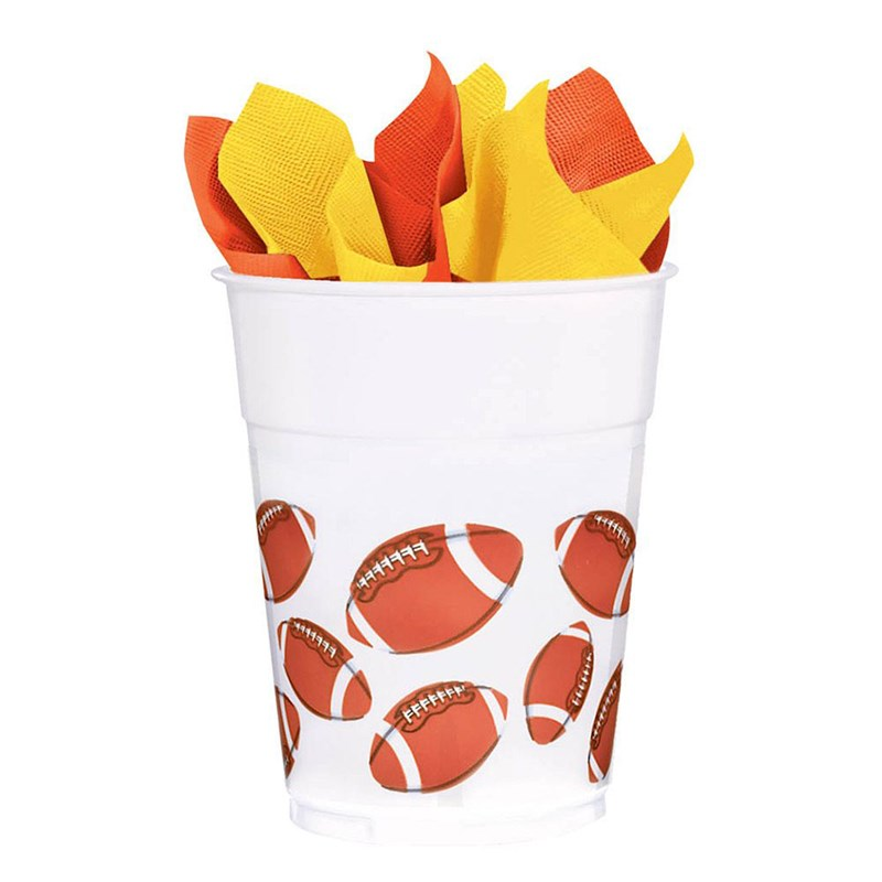 Football Fan 14 oz. Plastic Cups (8 count) for the 2015 Costume season.