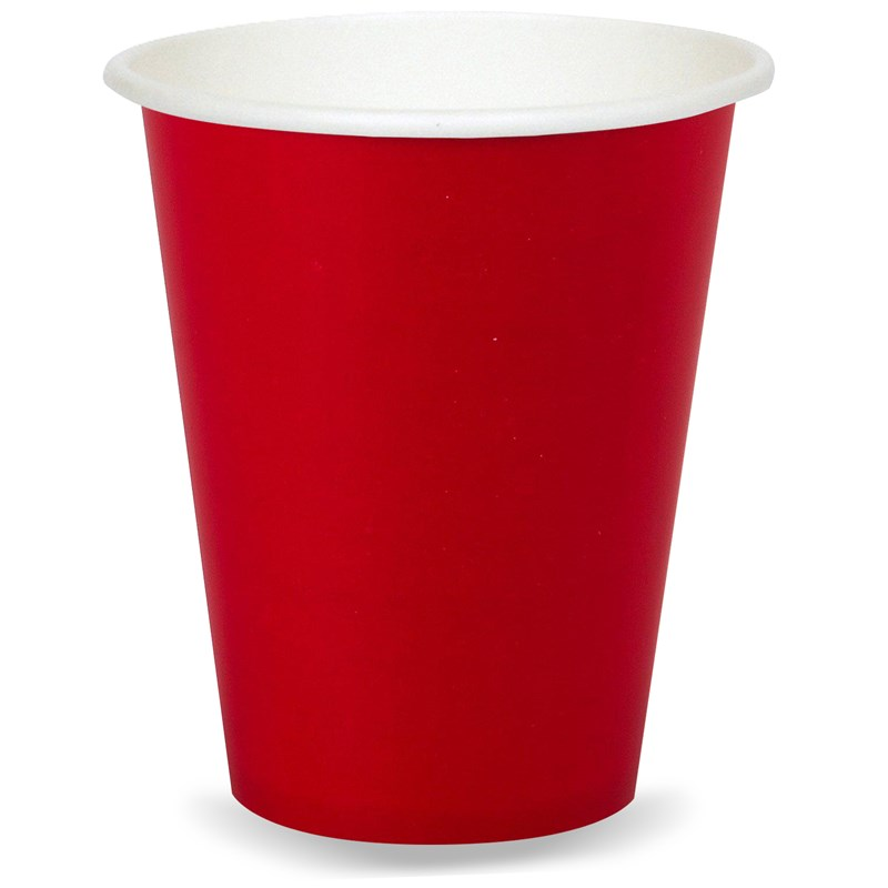 Classic Red (Red) 9 oz. Paper Cups (24 count) for the 2015 Costume season.